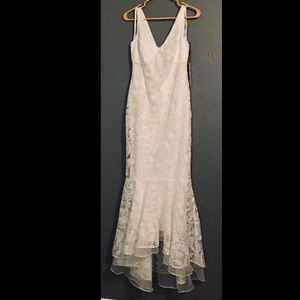 Calvin Klein wedding dress new with tags